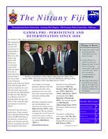 2013 Fall Newsletter Gamma Phi (Pennsylvania State University)