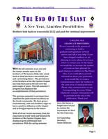 2013 February Newsletter Mu Upsilon (Miami University)