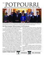 2013 Spring Newsletter Xi Deuteron (Case Western Reserve University)