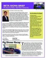 2013 Summer Newsletter Beta Sigma (Ball State University)