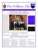 2013 Winter Newsletter Gamma Phi (Pennsylvania State University)