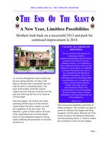 2013 Winter Newsletter Mu Upsilon (Miami University)