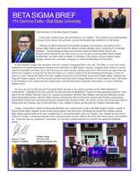 2014 Fall Newsletter Beta Sigma (Ball State University)