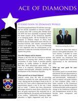 2014 Fall Newsletter Epsilon Iota (University of Evansville)