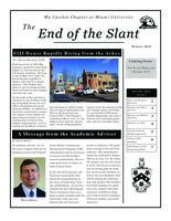 2015 Winter Newsletter Mu Upsilon (Miami University)