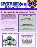 2016 June Newsletter Iota Sigma (Indiana State University)