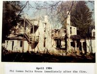 1984 Washington & Lee Chapter House Fire