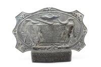 John Templeton McCarty (Jefferson College 1848) Casket Plate