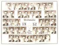 Westminster College College Composite for 1952