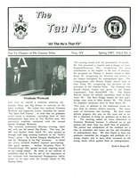 1987 Spring Newsletter Tau Nu (Rensselaer Polytechnic Institute)