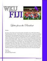 2010 February Newsletter Chi Eta (Western Kentucky University)