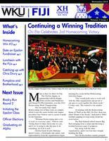 2010 November Newsletter Chi Eta (Western Kentucky University)