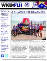 2012 September Newsletter Chi Eta (Western Kentucky University)