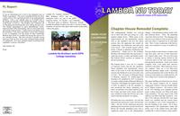 2012 Summer Newsletter Lambda Nu (University of Nebraska)