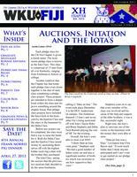 2012 Winter Newsletter Chi Eta (Western Kentucky University)