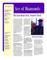 2012 Winter Newsletter Epsilon Iota (University of Evansville)