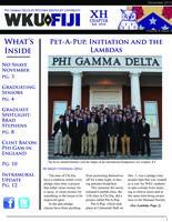 2013 December Newsletter Chi Eta (Western Kentucky University)