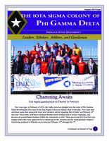 2013 January Newsletter Iota Sigma (Indiana State University)
