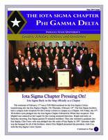 2013 May Newsletter Iota Sigma (Indiana State University)