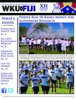 2013 October Newsletter Chi Eta (Western Kentucky University)