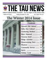 2014 December Newsletter Tau Nu (Rensselaer Polytechnic Institute)