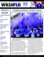 2014 Fall Newsletter Chi Eta (Western Kentucky University)