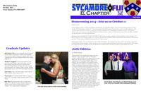 2014 Fall Newsletter Iota Sigma (Indiana State University)