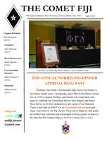 2015 April Newsletter Tau Delta (University of Texas at Dallas)