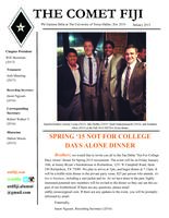 2015 January Newsletter Tau Delta (University of Texas at Dallas)