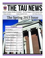2015 March Newsletter Tau Nu (Rensselaer Polytechnic Institute)