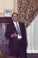 1969 Bob Harker (Iowa State University 1943) at Rho Phi Chartering Weekend