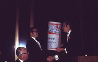 1969 Chartering Banquet for Rho Phi Chapter