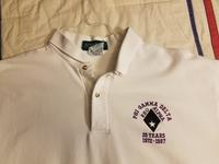 1997 Virginia Tech 25th Anniversary Pig Dinner Polo