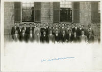 1910 Brothers of the Mu Chapter at the University of Wisconsin