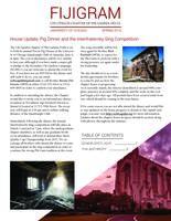 2016 Spring Newsletter Chi Upsilon (University of Chicago)