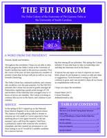2016 Spring Newsletter Mu Lambda (University of South Carolina)