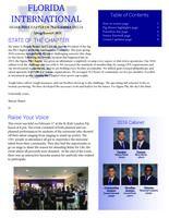 2016 Spring Newsletter Sigma Phi (Florida International University)