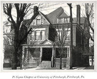 1927 Pi Sigma Chapter House at University of Pittsburgh