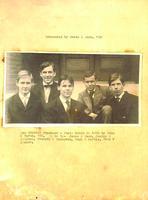 1900s Tau at Hanover College Scrapbook