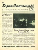 1965 December Newsletter Sigma Omicron (Oklahoma State University)