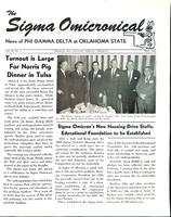 1965 May Newsletter Sigma Omicron (Oklahoma State University)
