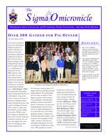 2012 Spring Newsletter Sigma Omicron (Oklahoma State University)