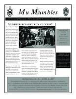 2012 Summer Newsletter Mu (University of Wisconsin)