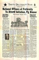 1948 February Newsletter Theta Deuteron (Ohio Wesleyan University)