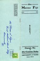 1912 June Newsletter Omega Mu (University of Maine)