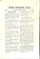 1907 October Newsletter Omega Mu (University of Maine)