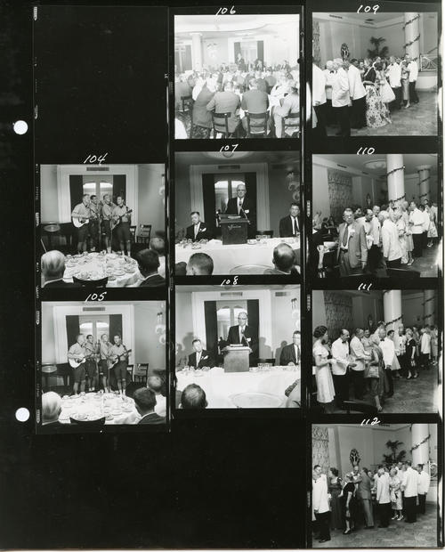 1960 Ekklesia Proof Photos. The 112th Ekklesia was held in Washington, DC at the Shoreham Hotel, on August 24-27, 1960. There were 605 Brothers registered for the 112th Ekklesia.
