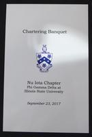 2017 Nu Iota Chartering at Illinois State University