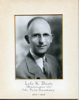 Field Secretary 007 - Lyle K. Bush (University of Washington 1922)