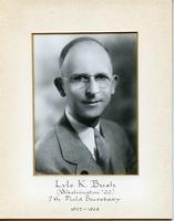 Field Secretary 007 - Lyle K. Bush (University of Washington 1922)